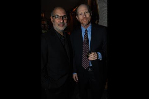 Alan Yentob and Ron Howard